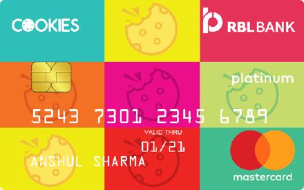 RBL Bank Cookies Credit Card