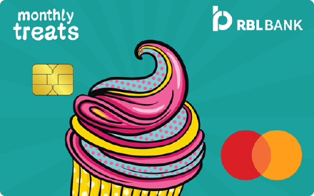 RBL Bank Monthly Treats Credit Card
