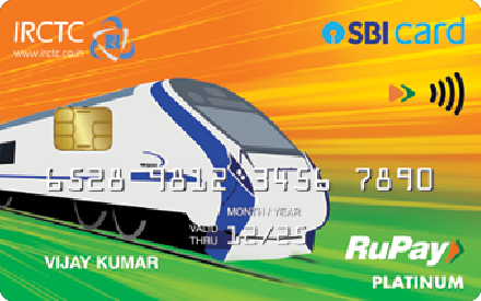 SBI IRCTC Rupay Card