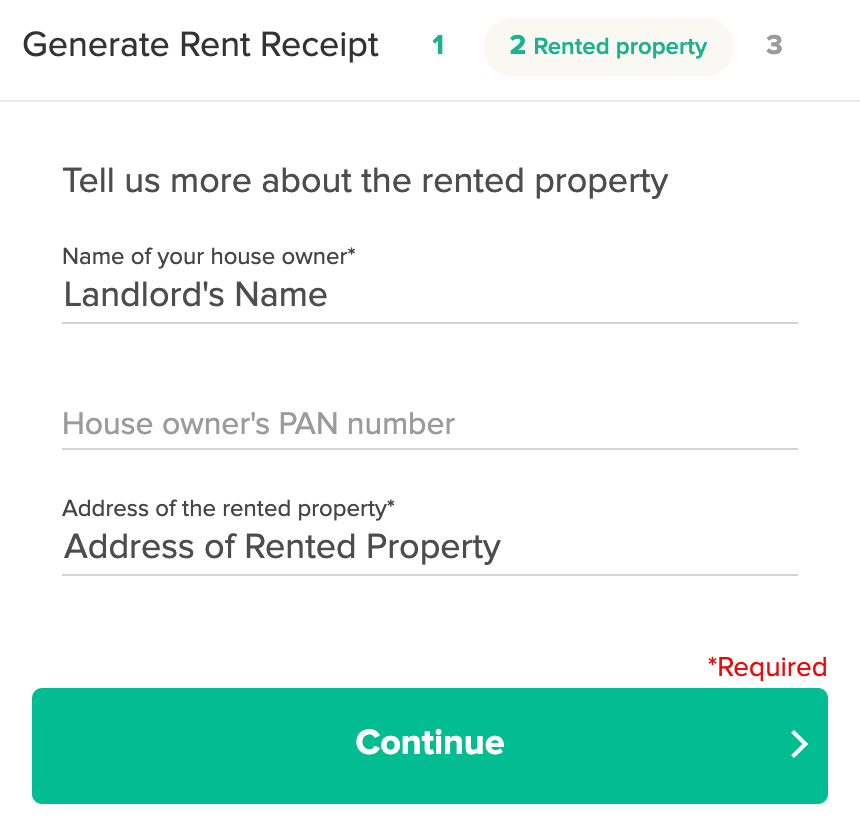 etmoney rent receipt genrator step2