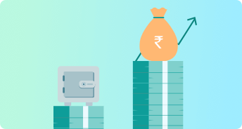 Earn more than Fixed Deposits